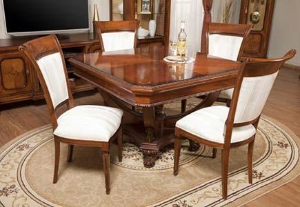Квадратный стол Sophia Gold
